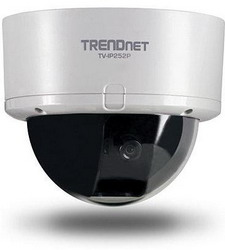 Поворотная камера TrendNet TV-IP252P, 0.3 Mpx