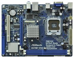 Материнская плата ASRock G41M-VS3 R2.0