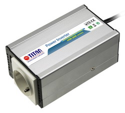 Преобразователь напряжения автомобильный 12V-24avto/220V Titan HW-200E5 (USB,евророзетка,, алюм...