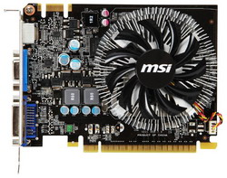 GeForce GTS 450 700Mhz PCI-E 2.0 1024Mb 1800Mhz 128 bit DVI HDMI HDCP N450GTS-MD1GD3