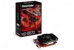 Radeon HD 6670 800Mhz PCI-E 2.1 1024Mb 1333Mhz 128 bit DVI HDMI HDCP AX6670 1GBK3-H