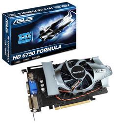 Radeon HD 6750 700Mhz PCI-E 2.1 1024Mb 4000Mhz 128 bit DVI HDMI HDCP EAH6750 FML/DI/1GD5
