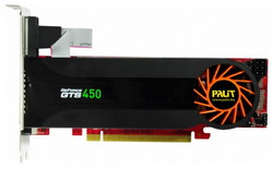 GeForce GTS 450 783Mhz PCI-E 2.0 1024Mb 3608Mhz 128 bit DVI HDMI HDCP Cool NE5S4500HD01-1062F