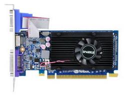 GeForce GT 520 810Mhz PCI-E 2.0 1024Mb 1800Mhz 64 bit DVI HDMI HDCP SXT5201024S3LNM