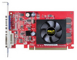 GeForce 210 589Mhz PCI-E 2.0 512Mb 800Mhz 64 bit DVI HDCP NE2G21000856-2186F