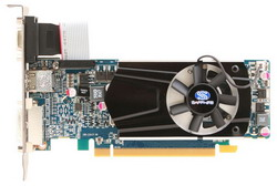 Radeon HD 6570 650Mhz PCI-E 2.1 2048Mb 1600Mhz 128 bit DVI HDMI HDCP 11191-02-20G