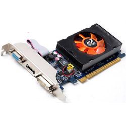 GeForce GT 520 810Mhz PCI-E 2.0 2048Mb 1333Mhz 64 bit DVI HDMI HDCP N520-1DDV-E3BX