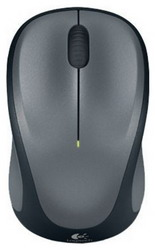 Мышь Logitech Wireless Mouse M235 Grey-Black USB