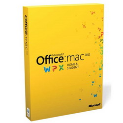 Office Mac Home and Student 2011 Russian GZA-00145