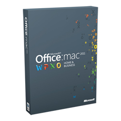 Office Mac Home and Business 2011 Russian W9F-00023