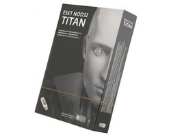 NOD32 TITAN - лицензия на 1 ПК (базовый продукт NOD32 Smart Security - лицензия на 1 год на 3ПК) NOD32-EST-NS(BOX)-1-1