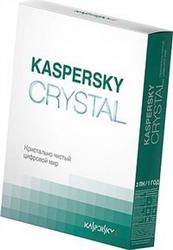 Kaspersky CRYSTAL Russian Edition 2-Desktop 1 year Base Box