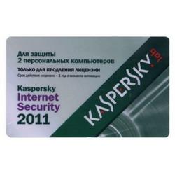 Kaspersky Продление лицензии Internet Security 2011 Russian Edition. 2-Desktop 1 year Renewal Card