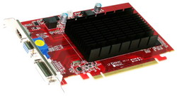 Radeon HD 6450 625Mhz PCI-E 2.1 1024Mb 800Mhz 64 bit DVI HDMI HDCP AX6450 1GBK3-SHV2