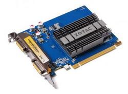 GeForce 210 520Mhz PCI-E 2.0 1024Mb 1200Mhz 64 bit 2xDVI HDCP ZT-20310-10L