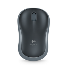 Мышь Logitech Wireless Mouse M185 Black USB