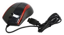 Мышь A4 Tech Q3-400-4 Black-Red USB