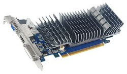 GeForce GT 520 810Mhz PCI-E 2.0 512Mb 1200Mhz 32 bit DVI HDMI HDCP ENGT520 SL/DI/512MD3(LP)