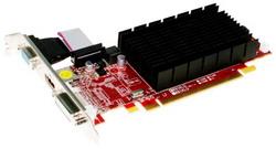 Radeon HD 6450 625Mhz PCI-E 2.1 512Mb 800Mhz 64 bit DVI HDMI HDCP AX6450 512MK3-SH