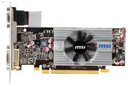 Radeon HD 6570 650Mhz PCI-E 2.1 2048Mb 1334Mhz 128 bit DVI HDMI HDCP R6570-MD2GD3/LP