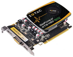 GeForce GTS 450 600Mhz PCI-E 2.0 2048Mb 1333Mhz 128 bit DVI HDMI HDCP ZT-40509-10L