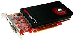 Radeon HD 6770 850Mhz PCI-E 2.1 1024Mb 4800Mhz 128 bit DVI HDMI HDCP Cool AX6770 1GBD5-IDHG