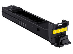 Тонер-картридж Konica-Minolta A0DK252 желтый расширенной емкости