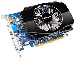 GeForce GT 430 700Mhz PCI-E 2.0 2048Mb 1600Mhz 128 bit DVI HDMI HDCP GV-N430-2GI