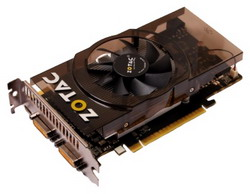 GeForce GTS 450 783Mhz PCI-E 2.0 1024Mb 3608Mhz 128 bit 2xDVI Mini-HDMI HDCP ZT-40510-10L