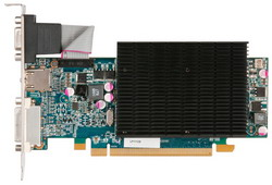 Radeon HD 6570 650Mhz PCI-E 2.1 1024Mb 1600Mhz 128 bit DVI HDMI HDCP Silent H657HO1GB