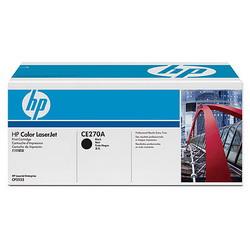 Лазерный картридж HP CE270A черный