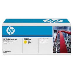 Лазерный картридж HP CE272A желтый