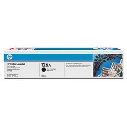 Лазерный картридж HP CE310A черный