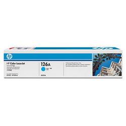 Лазерный картридж HP CE311A голубой