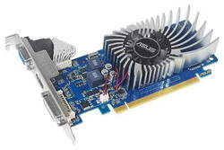 GeForce GT 430 700Mhz PCI-E 2.0 1024Mb 1200Mhz 64 bit DVI HDMI HDCP ENGT430/DI/1GD3/MG(LP)