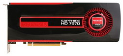 Видеокарта Sapphire Radeon HD 7970 925Mhz PCI-E 3.0 3072Mb 5500Mhz 384 bit DVI HDMI