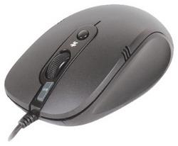 Мышь A4 Tech N-560FX PADLESS MOUSE Black USB