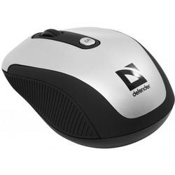 Мышь Defender Optimum MS-125 Nano Silver-Black USB