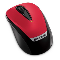 Мышь Microsoft Wireless Mobile Mouse 3000v2 Hibiscus Red USB