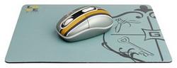 Мышь G-CUBE G7MR-1020RR Grey-Gold USB