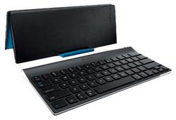 Клавиатура Logitech Tablet Keyboard for iPad Black Bluetooth