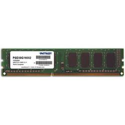 Оперативная память Patriot PSD38G16002