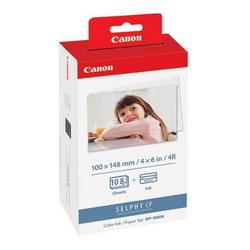 Комплект для  печати Canon KP-108IN: картридж+бумага на 108 фотографий 10 х 15