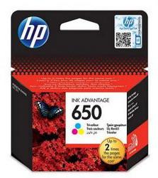 Струйный картридж HP 650 трехцветный