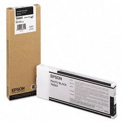 Струйный картридж Epson C13T606100 черный расширенная емкость C13T606100