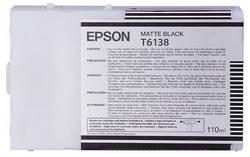 Струйный картридж Epson C13T613800 матовый черный