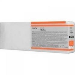 Струйный картридж Epson C13T636A00 оранжевый расширенная емкость