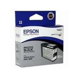 Струйный картридж Epson C13T580100 черный C13T580100