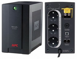 ИБП APC BACK-UPS RS 650VA 230V WITHOUT COMMUNICATION RUSSIAN