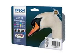 Комплект струйных картриджей Epson C13T11174A10 6 шт.
